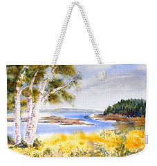 Early Summer Birches Weekender Tote Bag