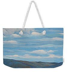 Early Summer Blue Hills Weekender Tote Bag