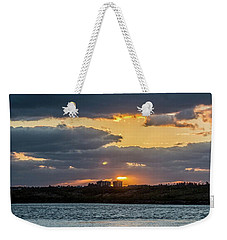 Early Sun Weekender Tote Bag by Nance Larson