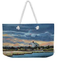 Early Winter Nocturne Weekender Tote Bag