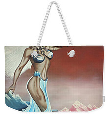 Earth Angel Weekender Tote Bag by Dianna Lewis