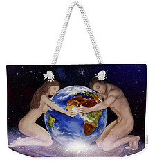 Earth Child Weekender Tote Bag by Rosa Cobos