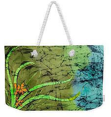 Earth Flower Weekender Tote Bag
