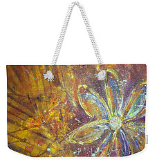 Earth Flower Weekender Tote Bag