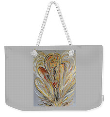 Earth Has Angels Far To Few And Heaven Is Overflowing.... Weekender Tote Bag
