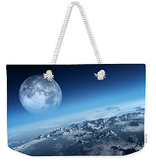Earth Icy Ocean Aerial View Weekender Tote Bag