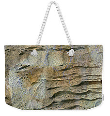 Weekender Tote Bag featuring the photograph Earth Memories-sleeping River # 2 by Ed Hall