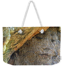Weekender Tote Bag featuring the photograph Earth Memories-stone # 4 by Ed Hall