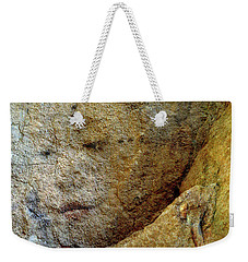 Weekender Tote Bag featuring the photograph Earth Memories - Stone # 5 by Ed Hall