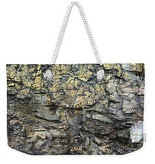 Weekender Tote Bag featuring the photograph Earth Memories - Stone # 6 by Ed Hall