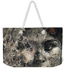 Weekender Tote Bag featuring the photograph Earth Memories - Stone # 7 by Ed Hall