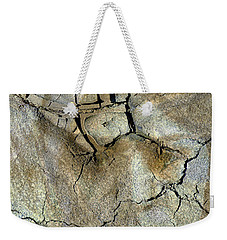 Weekender Tote Bag featuring the photograph Earth Memories-thirsty Earth by Ed Hall