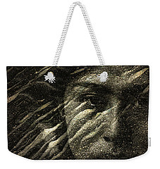 Weekender Tote Bag featuring the photograph Earth Memories - Water Spirit by Ed Hall