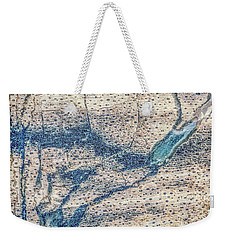 Weekender Tote Bag featuring the photograph Earth Portrait 001-118 by David Waldrop
