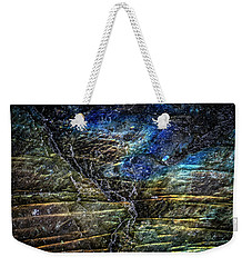 Weekender Tote Bag featuring the photograph Earth Portrait 01-18 by David Waldrop