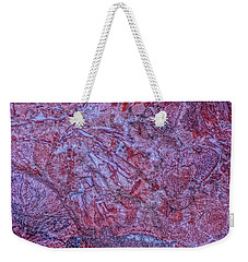 Earth Portrait 257 Weekender Tote Bag