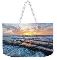 Earth, Sea, Sky Weekender Tote Bag