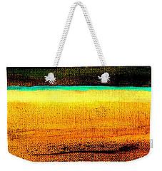 Earth Stories Abstract Weekender Tote Bag