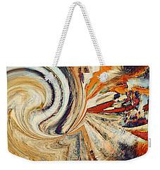 Earth Tones Weekender Tote Bag