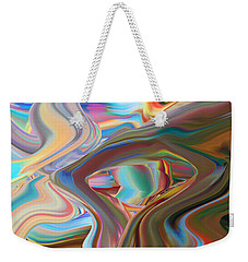 Earth Waves Weekender Tote Bag