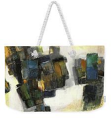 Lemon And Tiles Weekender Tote Bag by Behzad Sohrabi