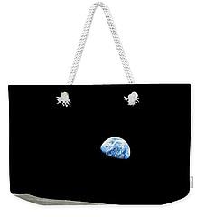 Earthrise - The Original Apollo 8 Color Photograph Weekender Tote Bag by Nasa