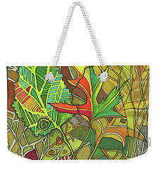 Earth's Expression Weekender Tote Bag