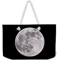 Earth's Moon Weekender Tote Bag