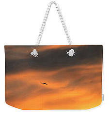 Weekender Tote Bag featuring the photograph Ease Into The Night by John Glass