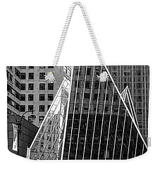 East 42nd Street, New York City  -17663-bw Weekender Tote Bag