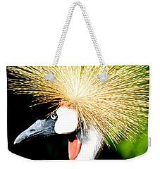 East African Crowned Crane Weekender Tote Bag