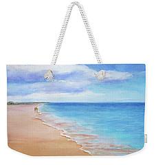 East Beach I Weekender Tote Bag by Janet Zeh