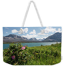Weekender Tote Bag featuring the photograph East Glacier National Park by Margaret Pitcher