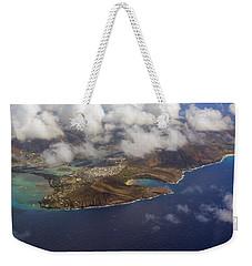 East Oahu From The Air Weekender Tote Bag