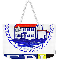 East Point Lighthouse Poster - 2 Weekender Tote Bag by Nancy Patterson