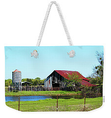 East Texas Barn Weekender Tote Bag