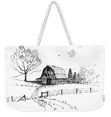East Texas Hay Barn Weekender Tote Bag