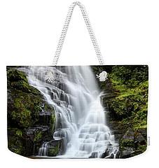 Eastatoe Falls Rages Weekender Tote Bag