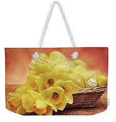 Easter Basket Weekender Tote Bag