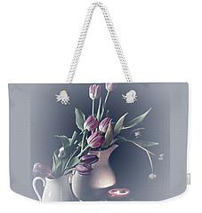 Easter Blessings No. 3 Weekender Tote Bag by Sherry Hallemeier