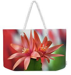 Easter Cactus Weekender Tote Bag