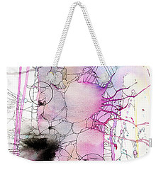 Weekender Tote Bag featuring the painting Easter Egg Fry Up by Rebecca Davis
