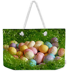 Easter Egg Nest Weekender Tote Bag