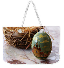 Easter Egg Russian Style Weekender Tote Bag