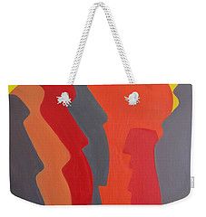 Easter Island Weekender Tote Bag by Michael  TMAD Finney AKA MTEE