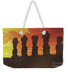Easter Island Sunset II Weekender Tote Bag by Ryan Fox