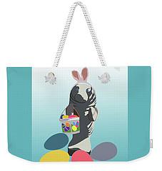 Easter Manatee Weekender Tote Bag