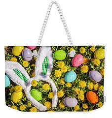 Weekender Tote Bag featuring the photograph Easter Morning by Teri Virbickis