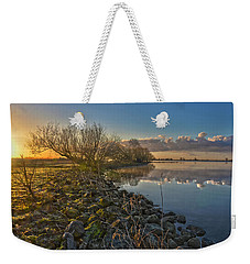 Easter Sunrise Weekender Tote Bag