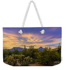Easter Sunset H18 Weekender Tote Bag